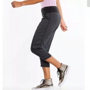 LUCY Activewear Get Going Capri Studio Pant Black